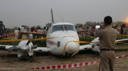 Air ambulance crash-lands in Delhi's Najafgarh; all passengers safe