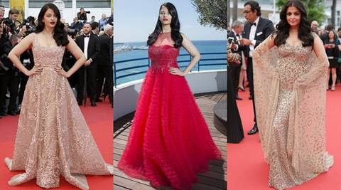 PHOTOS: Cannes Film Festival 2016: Aishwarya Rai Bachchan steels the show in golds and red | The Indian Express