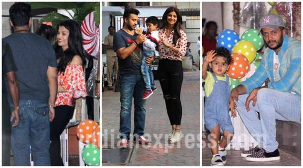 Shilpa Shetty, Shilpa Shetty son, Shilpa Shetty Son Vivaan, Aishwarya Rai Bachchan, Viaan, Viaan birthday pics, Viaan birthday party, Viaan Raj Kundra, Viaan Raj Kundra birthday, Raj Kundra, Raj Kundra Son, Abhishek Bachchan, Riteish Deshmukh, Genelia Deshmukh, Entertainment news