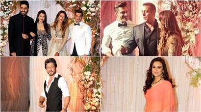 Bipasha Basu, Karan Singh Grover's reception: Aishwarya, Salman Khan, SRK, Preity Zinta add star power