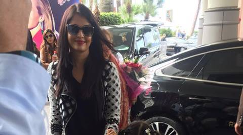 Aishwarya Rai Bachchan, daughter Aaradhya flaunt black and white in Cannes | The Indian Express