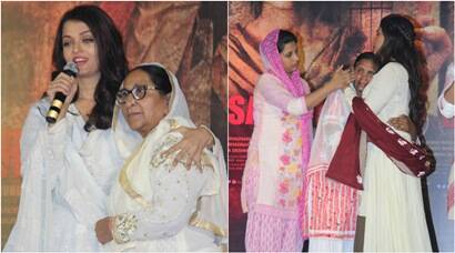 Aishwarya Rai, Randeep Hooda pay homage to Sarabjit with his family in attendance, see pics