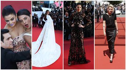 PHOTOS: Cannes 2016 Day 5: Aishwarya, Sonam, Kendall, Kristen wow everyone with their dazzling looks on red carpet | The Indian Express