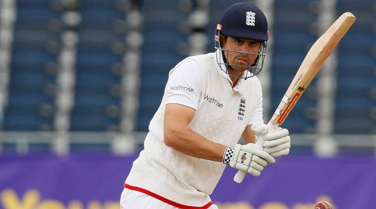 In 2016 Alastair Cook became the first English batsman to score 10000 Test runs.(Photo - getty)