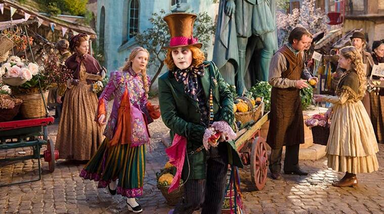 Alice Through The Looking Glass, Alice Through The Looking Glass movie review, Alice Through The Looking Glass review, Alice Through The Looking Glass ratings, Alice Through The Looking Glass stars, Johnny Depp, Helena Bonham Carter, Anne Hathaway, Sacha Baron Cohen, Rhys Ifans, Stephen Fry, Mia Wasikowska, Alice Through The Looking Glass movie
