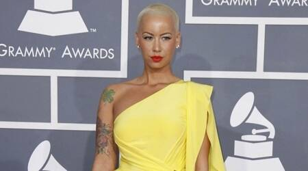 Amber Rose 'slept' while intruder broke into her house