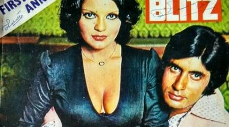 Amitabh bachchan shares throwback photograph with Zeenat Aman