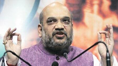 amit shah, amit shah ram temple, ram temple issue, up elections, uttar pradesh elections, india news, bjp bajrang dal, bjp rss, amit shah up, up news