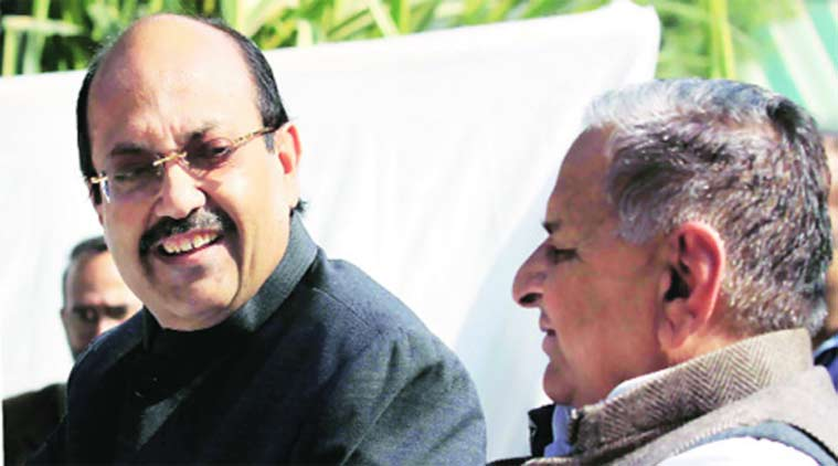 Amar Singh, rajya sabha, Mulayam singh, samajwadi party, amar singh nominated, UP polls, India news