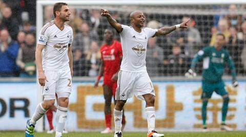 Swansea City v Liverpool - Barclays Premier League