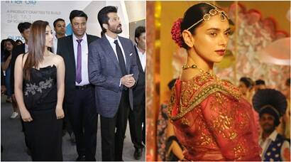 Anil, Yami at a product launch, while Aditi walked the ramp in the Capital