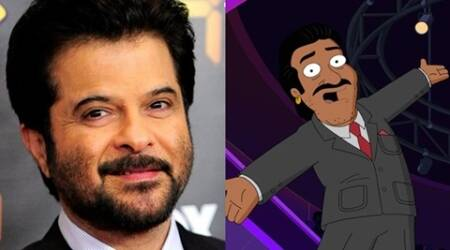 Anil Kapoor shares his first avatar from Family Guy