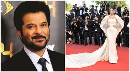 Sonam Kapoor, Anil Kapoor, Anil Kapoor Sonam Kapoor, CANNES, CANNES 2016, Sonam Kapoor CANNES, Sonam Kapoor DRESS, Sonam Kapoor RED CARPET, Sonam AT CANNES, Anil Kapoor, Anil Kapoor FILM, Anil Kapoor NEWS, ENTERTAINMENT NEWS