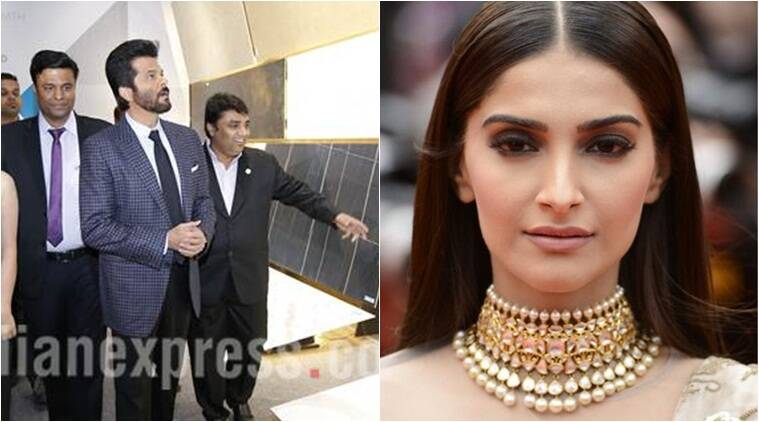 Anil kapoor, Sonam kapoor, Cannes, Cannes film festival, L'Oréal Paris ambassador, amfAR gala, fight against AIDS, Entertainment news