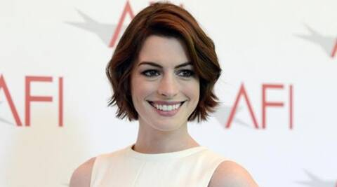 Anne Hathaway didn't plan on announcing pregnancy   The Indian Express