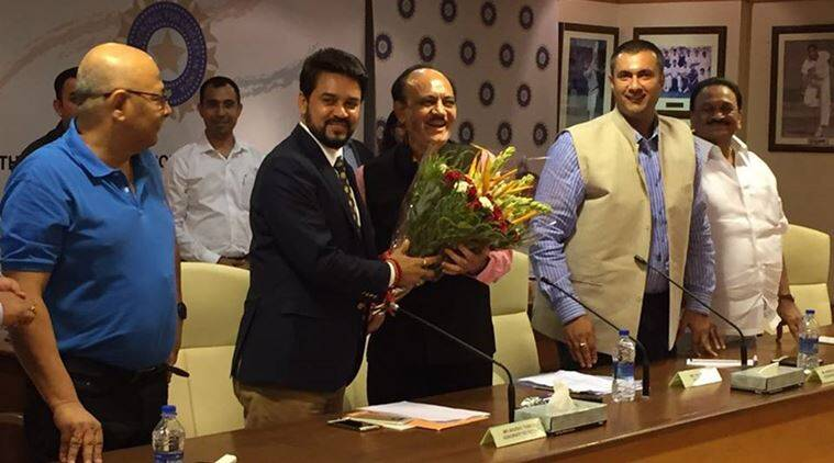 Anurag Thakur, Anurag, Thakur, Anurag Thakur BCCI, BCCI Anurag Thakur, BCCI Thakur, BCCI President, bcci president, Anurag news, Thakur news, Anurag Thakur news, Cricket