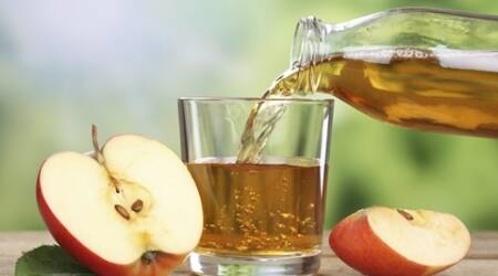 Diluted apple juice best to treat dehydration inkids