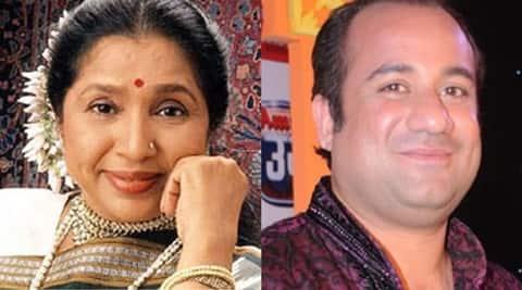 Asha Bhosle, Rahat Fateh Ali Khan, Asha Bhosle news, Rahat Fateh Ali Khan news, Entertaiment news