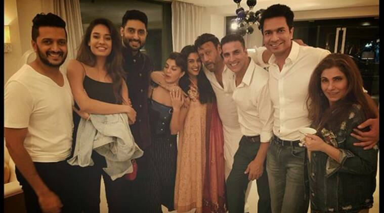 Asin hosts dinner for friend Akshay Kumar's 'Housefull 3' cast ...