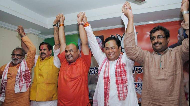assam, assam elections, assam polls, 2016 assam election, assam election result, assam bjp win, Sarbananda Sonowal, Sarbananda Sonowal assam, tarun gogoi, assam congress, assam news, bjp kerala polls, bjp assam polls, election news, assam election result, india news, latest news