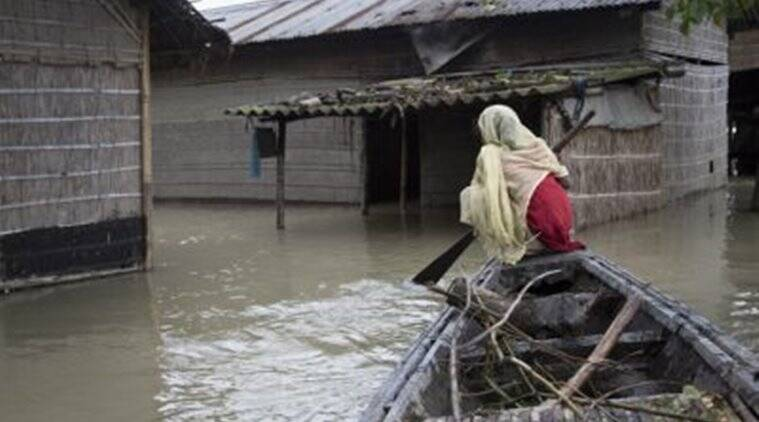 Assam, Assam floods, floods in Assam, Floods, Assam floods situation, relief, Brahmputra, india news