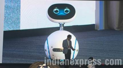 Whoa! Asus just launched a robot, and it looks like WALL-E
