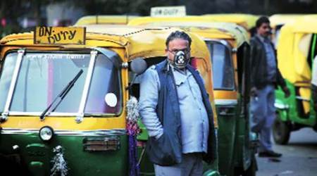 Cab aggregators make Delhi auto drivers see red