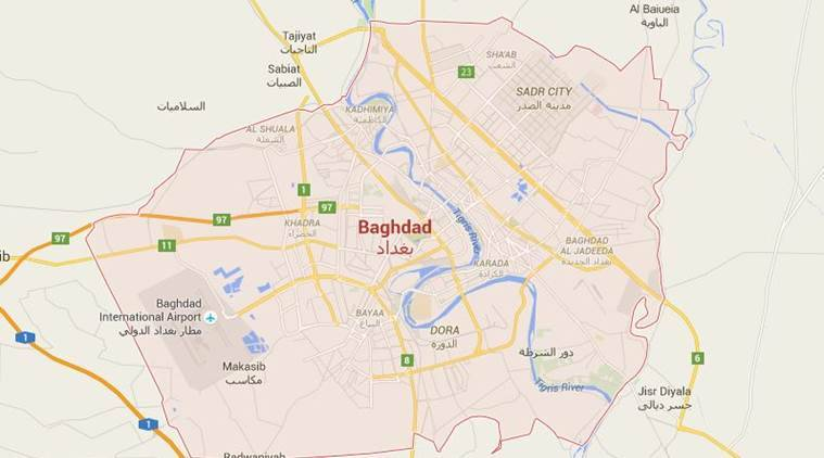 baghdad, baghdad blast, baghdad suicide bomb, baghdad suicide bombing, baghdad suicide bomb blast, baghdad suicide blast, iraq suicide blast, iraq bombing, world news, indian express