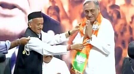 Uttarakhand: Vijay Bahuguna, 8 other rebel Cong MLAs join BJP