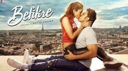 befikre, befikre poster, befikre first poster, ranveer singh, befikre first look, vaani kapoor, ranveer singh befikre, vaani kapoor befikre, aditya chopra, befikre release date, befikre cast, befikre trailer, befikre kiss, ranveer vaani kiss, ranveer singh vaani kapoor, entertainment news