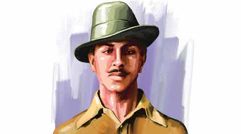 Bhagat Singh, Revolutionary terrorist, Bhagat singh in books, Bhagat singh revolutionary terrorist, DU book ban, Delhi University, Bhagat singh in DU book, India news