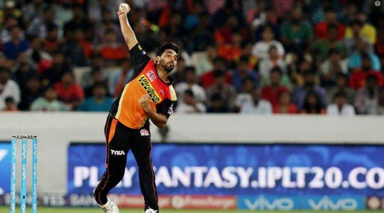 bhuvneshwar kumar, bhuvneshwar, ipl 2016 final, ipl final, ipl score, srh, sunrisers hyderabad, rcb vs srh, srh vs rcb, cricket news, cricket