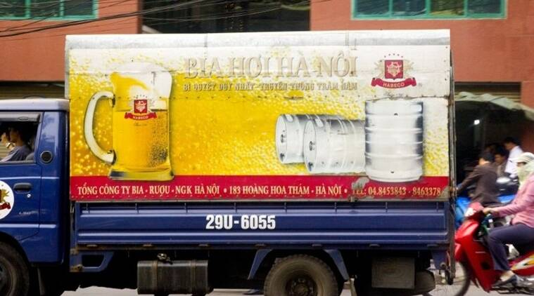 Bia Hanoi is among Vietnam's largest selling beers.