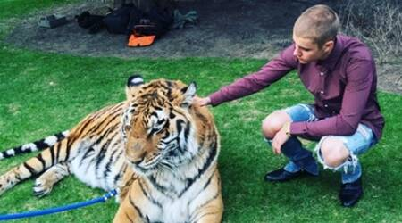 PETA slams Justin Bieber over tiger photo