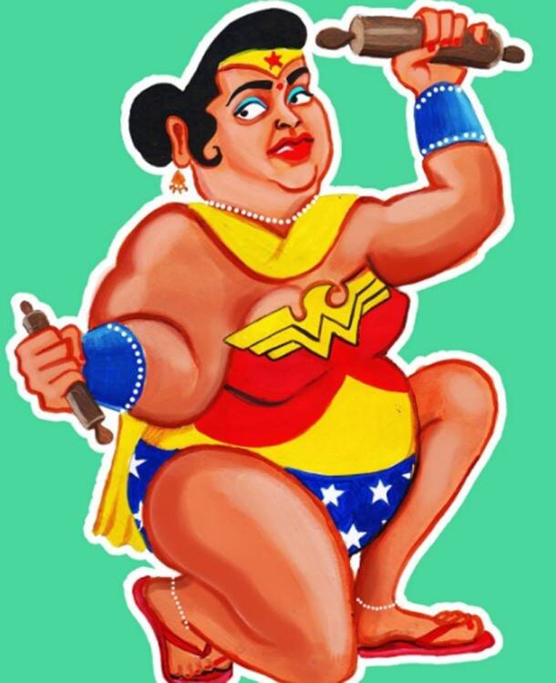 Re-imagined: What if our favourite superheroes were Indian super-aunties
