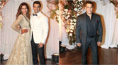 bipasha basu, salman khan, karan singh grover, bipasha salman, salman khan bipasha basu reception, bipasha reception, bipasha basu news, karan singh grover, bipasha karan, bipasha karan singh grover, bipasha karan pics, bipasha salman pics, entertainment news, bipasha basu news, bipasha basu latest news