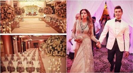Bipasha Basu planned reception decor all by herself, shares pics