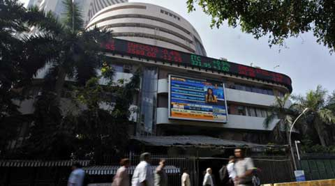 Sensex rally continues, up 96 points in early trade | The Indian Express