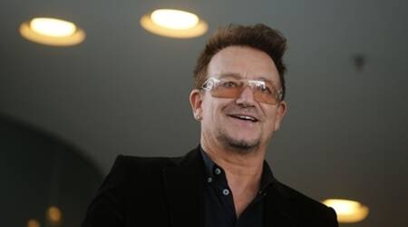 Bono pays tribute to missing African girls during play