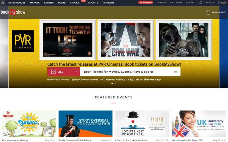 BookMyShow, BookMyShow design revamp, BookMyShow discount, BookMyShow offers, BookMyShow Anish Tripathi, technology, technology news
