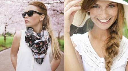 Use scarves, braid up to protect hair in summer