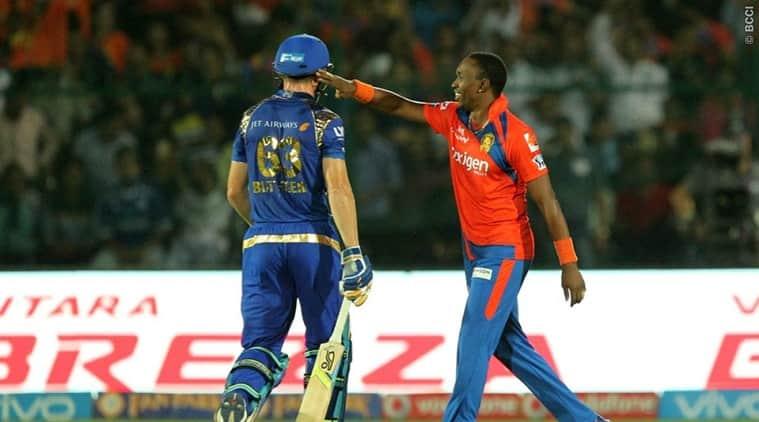 Dwayne Bravo, Bravo Gujarat, Bravo fined, Dwyane Bravo fined, Gujarat Lions, GL vs MI, IPL 2016, IPL news, IPL, IPL news, IPL standings, sports news, sports, cricket news, Cricket