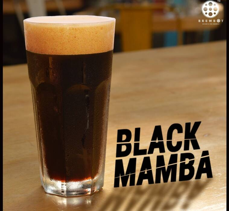 Brewbot's Black Mamba sits like chocolate ganache on your tongue.