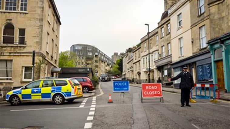 Britain, World War II, deactivated shell, Royal high School Bath, bomb found