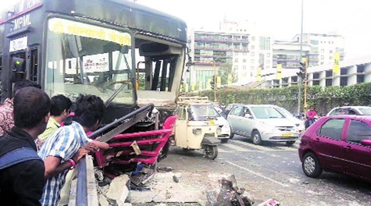 Nagar BRTS, pune Nagar BRTS, Nagar BRTS accidents, pune Nagar BRTS accidents, pune news india news