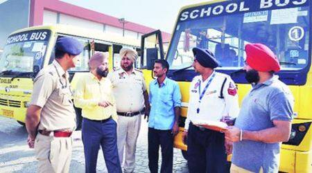Mohali: Challans issued to 58 buses, threeimpounded