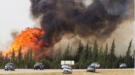 Watch: Canada wildfire may double in size, approaches oil sands project; evacuees urged to go to cities