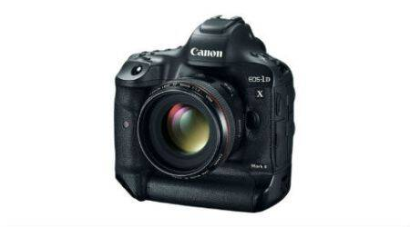 Canon EOS-1D X Mark II launched in India at Rs 4.55 lakh