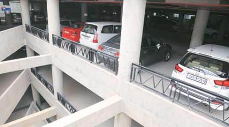 Chandigarh: From 800 to 250 vehicles daily now, multilevel parking falls on bad days