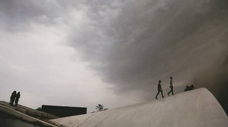 Chandigarh, met department, Cloudy weather, thunder storms, Chandigarh weather, Punjab and haryana weather, Chandigarh news, Punjab news, weather news, weather report, India news, latest news